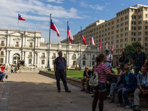 Santiago Highlights: Afternoon Walking Tour Photos