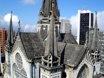 The Cathedral Of Manizales, A Neo-Gothic Church
