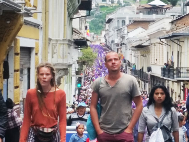Quito Oldtown & Viewingpoint Photos