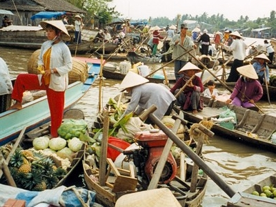 Floating Market Of Cần Thơ