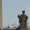 Luxor Obelisk And Statue