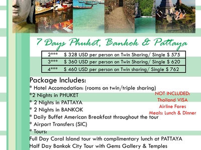 Thailand Packages 7 Days