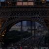 Beginning Of Night At The Eiffel