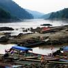 Salween River At Mae Sam Laep