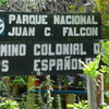 National Park Sign For The Spanish Way
