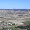 Typical Landscape Of The Monegros
