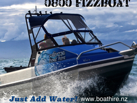 Boat Hire Poster
