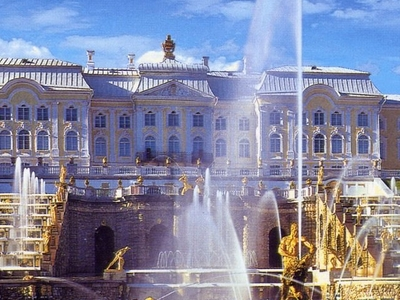 Peterhof Fountains Russia