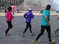 Groupe Running Louvre