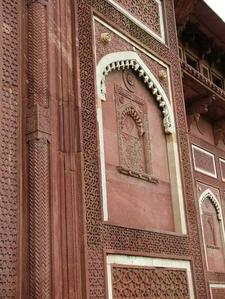Agra Fort Red Sandstone