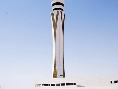 Air Traffic Control Tower At The DWC