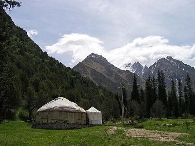 Ala-Archa Canyon - Chuy Province Kyrgyzstan