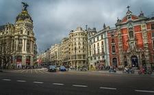 Alcalá-Gran Vía - View Madrid