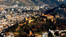 Alhambra Overview - Granada - Andalucia