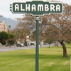 Alhambra Welcome Sign