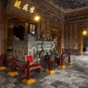 Altar Of Khai Dinh At Thien Dinh Palace