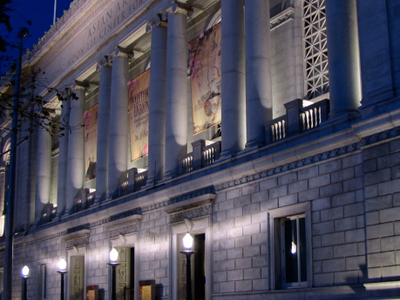 Asian Art Museum At Night