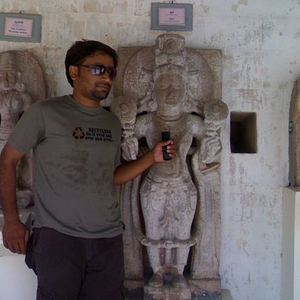 A Statue At Lakhota Fort Museum