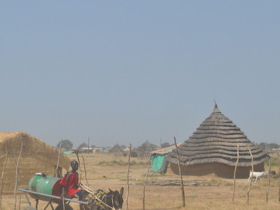 A View Of Abyei Town - Sudan