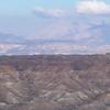 The Badlands In The Granada Plateau Guadix Depression