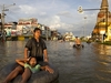 Ayutthaya Main Road Over Flow
