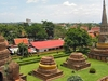 Ayutthaya - Over The Historic Ruins - Thailand