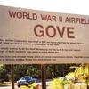 Airfield Gove World War I I Sign
