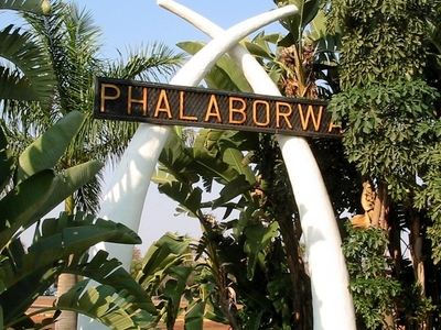 A Sign In Phalaporwa