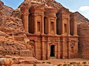 Day Tour to Red Rose City Petra & Dead Sea