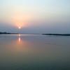 Backwaters At Sunset
