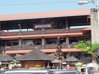 Badung Market In Denpasar