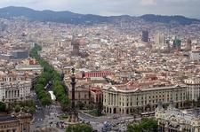 Barcelona - Bird's Eye View