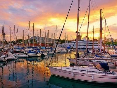 Barcelona Main Harbour