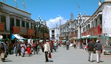 Barkhor In Lhasa