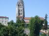 The Saint-Eutrope Basilica From The Avenue De Saintonge