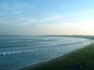 Beach View From Tenneti Park