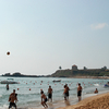 Beach Volley Ball On Byblos Shore