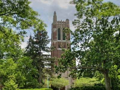 Beaumont Tower At Michigan State University