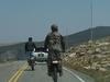 Bikers On Beartooth Pass Highway WY