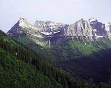 Bird Woman Falls - Glacier - USA