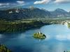 Bled Lake In Julian Alps