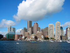 Boston Downtown Skyline