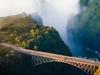 Bridge Over Zambezi At Victoria Falls