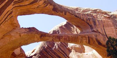Brimhall Natural Bridge - Capitol Reef - Utah - USA