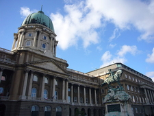 Buda Castle With Statue