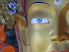 Buddha At Thiksey Gompa - Leh-Ladakh J&K