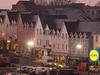 Ardaravan Square In Buncrana At Twilight