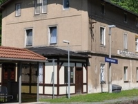 Goßdorf Kohlmühle Railway Station