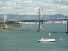 A Scenic View Of The Bay Bridge