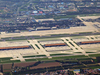 Aerial View Of The Capital Airport With Terminal 3